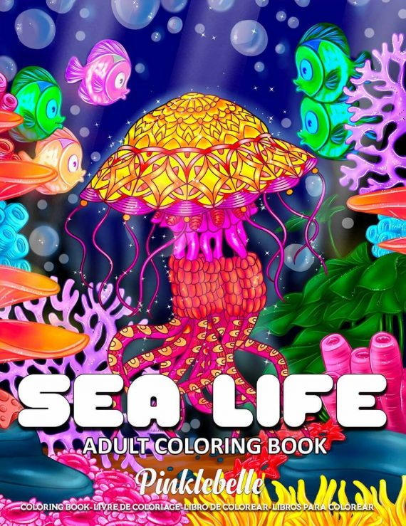 Sea-Life-Coloring-Book-by-Pinklebelle