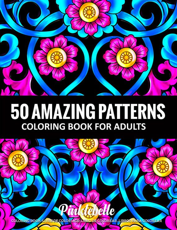 50 Amazing Patterns by Pinklebelle