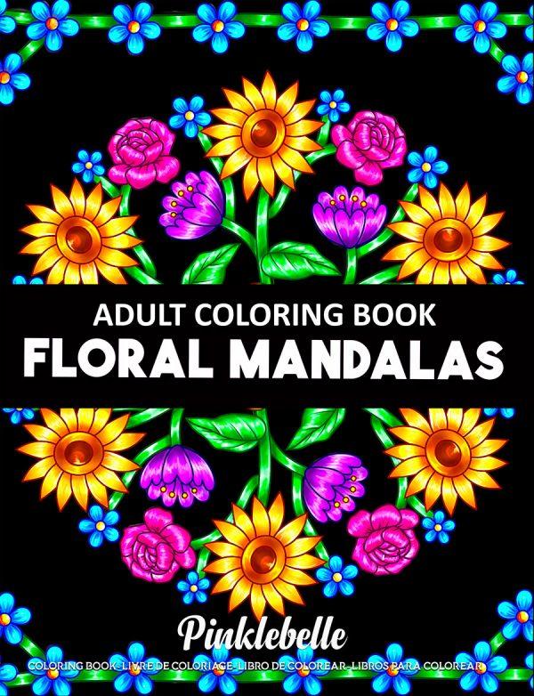 Floral Mandalas by Pinklebelle